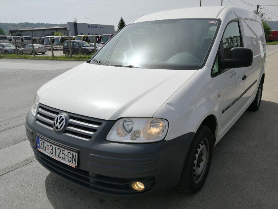 Volkswagen Caddy Maxi 1.9TDI, reg. 02/2021. - Samotreba delati